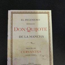 Libros antiguos: EL INGENIOSO HIDALGO DON QUIJOTE DE LA MANCHA . Lote 177000104