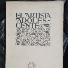Libros antiguos: EL ARTISTA ADOLESCENTE 1926. Lote 177132059