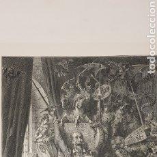 Libros antiguos: DON QUIJOTE DE LA MANCHA.GUSTAVO DORE GRABADOS POR H.PISAN.. Lote 177199413