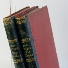 Libri antichi: EL INGENIOSO HIDALGO DON QUIJOTE DE LA MANCHA-MIGUEL DE CERVANTES-1875-2 TOMOS. Lote 177416759