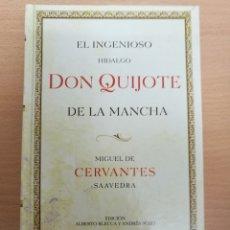 Libri antichi: LIBRO EL INGENIOSO HIDALGO DON QUIJOTE DE LA MANCHA MIGUEL DE CERVANTES. ED ESPECIAL HIPERCOR 25AÑOS. Lote 177499513