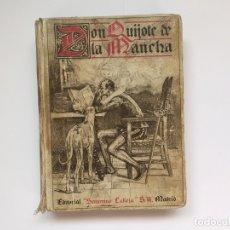 Libros antiguos: CERVANTES: DON QUIJOTE DE LA MANCHA (SATURNINO CALLEJA, 1905) 1ª ED. ¡ORIGINAL!. Lote 177582633