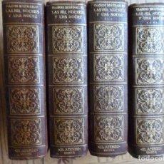 Livros antigos: LAS MIL Y UNA NOCHE (4 TOMOS).EL ATENEO. BUENOS AIRES, 1956. Lote 177665604