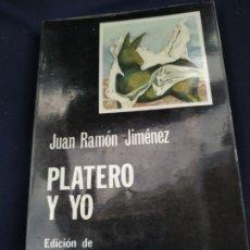 Libros antiguos: PLATERO Y YO - JUAN RAMON JIMENEZ. Lote 177675213