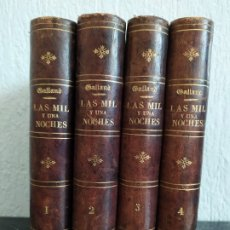 Libros antiguos: 1867. LAS MIL Y UNA NOCHES: CUENTOS ÁRABES. GALLAND.. Lote 177724794