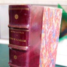 Libros antiguos: VIDA Y AVENTURAS DEL PÍCARO GUZMAN DE ALFARACHE - 2 TOMOS - 1843 - JUAN OLIVERES. Lote 178559643