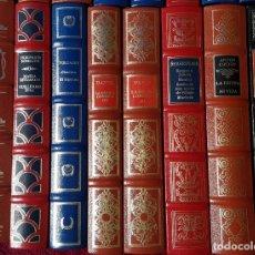Libros antiguos: LOTE 16 LIBROS. GRANDES GENIOS DE LA LITERATURA UNIVERSAL.. Lote 178597528