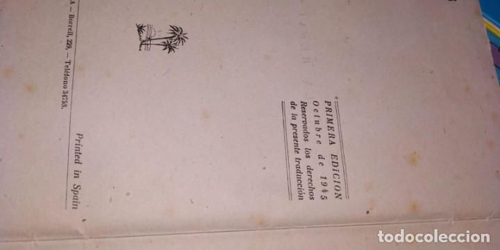 Libros antiguos: R.L. STEVENSON. LA RESACA. EDICIONES REGUERA, PRIMERA EDICIÓN 1945. - Foto 4 - 178636392