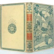 Libros antiguos: 1904 - ART NOUVEAU - LIBRO MODERNISTA ILUSTRADO CON GRABADOS. VALENTINA. MONTANER Y SIMÓN, PERGAMINO. Lote 178785247
