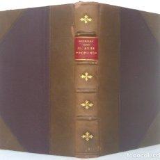 Libros antiguos: 1920 - PAUL BOURGET: EL AGUA PROFUNDA. PASO POR PASO (NOVELA) - 1ª ED. EN ESPAÑOL - ENCUADERNACIÓN. Lote 178810277