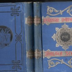 Libros antiguos: WALTER SCOTT : QUINTIN DURWARD - DOS TOMOS (VERDAGUER, 1884) . Lote 179023087