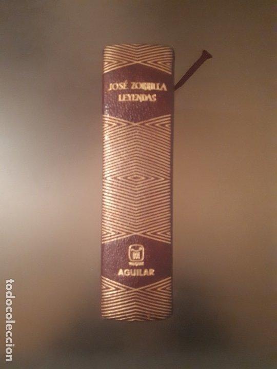 JOSÉ ZORRILLA - LEYENDAS (EDITORIAL AGUILAR) (Libros antiguos (hasta 1936), raros y curiosos - Literatura - Narrativa - Clásicos)