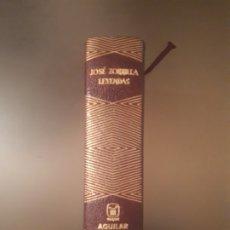 Libros antiguos: JOSÉ ZORRILLA - LEYENDAS (EDITORIAL AGUILAR). Lote 179048465