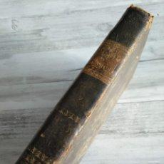 Libros antiguos: LAS AVENTURAS DE TELÉMACO - LES AVENTURES DE TÉLÉMAQUE (1834) - ILUSTRADA CON GRABADOS. Lote 179048642