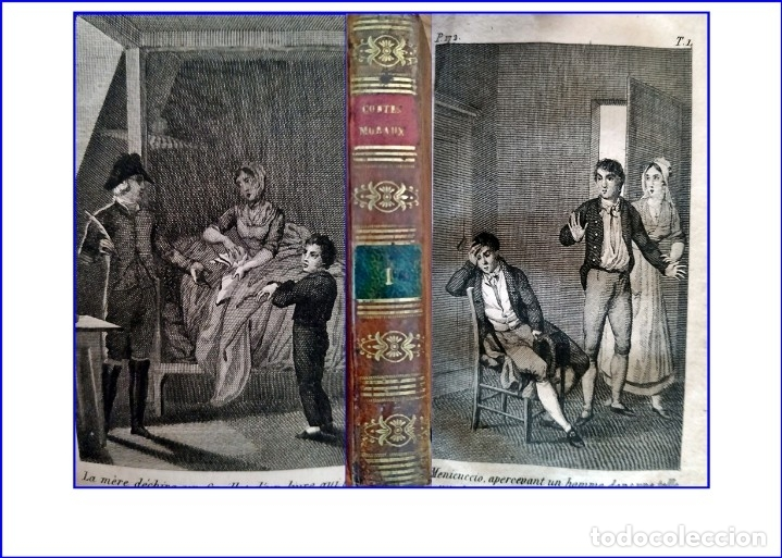 AÑO 1823: CUENTOS MORALES. LIBRO ILUSTRADO DEL SIGLO XIX. (Libros antiguos (hasta 1936), raros y curiosos - Literatura - Narrativa - Clásicos)