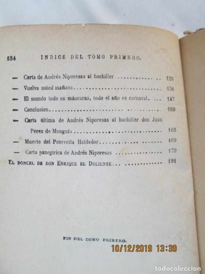 Libros antiguos: OBRAS COMPLETAS DE FÍGARO. D. MARIANO JOSÉ LARRA - TOMO I - PARIS 1843. - Foto 2 - 179206963