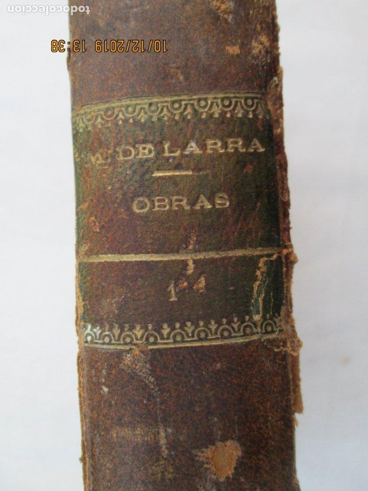 Libros antiguos: OBRAS COMPLETAS DE FÍGARO. D. MARIANO JOSÉ LARRA - TOMO I - PARIS 1843. - Foto 5 - 179206963