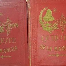 Libros antiguos: DON QUIJOTE DE LA MANCHA,JONZALEZ ROJAS, 1894.. Lote 179225426