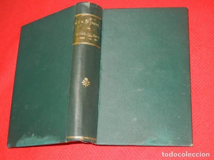 NUBES DE ESTIO, DE JOSE M. DE PEREDA - IMP. M.TELLO 1891 - 1A.EDICION (Libros antiguos (hasta 1936), raros y curiosos - Literatura - Narrativa - Clásicos)