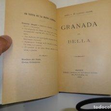 Libros antiguos: GRANADA LA BELLA. ÁNGEL T. DE GANIVET.. Lote 179521795