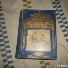 Libros antiguos: EL INGENIOSO HIDALGO DON QUIJOTE DE LA MANCHA- M. DE CERVANTES (2ª ED. 1935). Lote 180155001