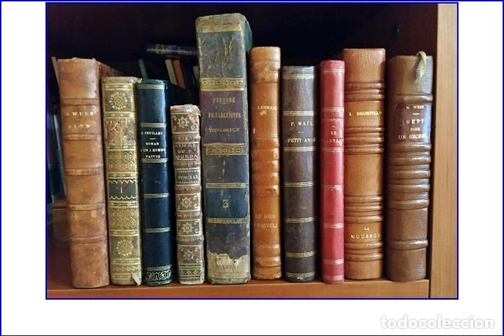 GRAN LOTE DE LIBROS DESDE EL SIGLO XVIII. (Libros antiguos (hasta 1936), raros y curiosos - Literatura - Narrativa - Clásicos)