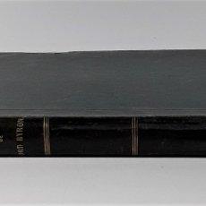 Libros antiguos: OEUVRES COMPLÈTES DE LORD BYRON. LOUIS BARRÉ. EDIT. J. BRY AINÉ. PARÍS. 1853.. Lote 180461888