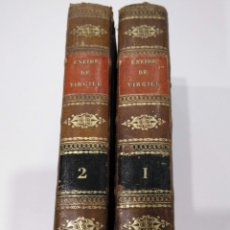 Libros antiguos: LA ENEIDA DE VIRGILIO (1835) - EDICIÓN BILINGÜE LATÍN-FRANCÉS - COMPLETA. Lote 180500920