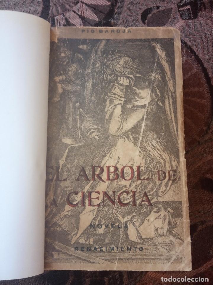 PÍO BAROJA - EL ÁRBOL DE LA CIENCIA (1911) [1ª EDICIÓN] (Libros antiguos (hasta 1936), raros y curiosos - Literatura - Narrativa - Clásicos)