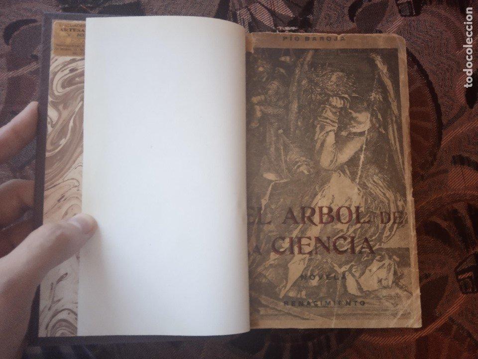 Libros antiguos: PÍO BAROJA - EL ÁRBOL DE LA CIENCIA (1911) [1ª EDICIÓN] - Foto 2 - 181132298