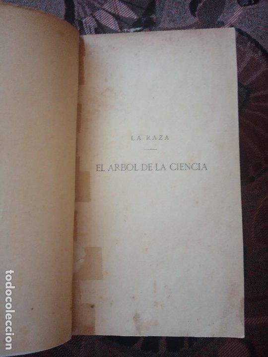 Libros antiguos: PÍO BAROJA - EL ÁRBOL DE LA CIENCIA (1911) [1ª EDICIÓN] - Foto 3 - 181132298