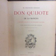 Libros antiguos: DON QUIJOTE DE LA MANCHA ,D. NICOLÁS DIAZ DE BENJUMEA, MONTANER Y SIMÓN 1880. Lote 181471667