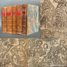 Libros antiguos: 1724 - OBRAS DE DON FRANCISCO DE QUEVEDO VILLEGAS - NUEVE MUSAS CASTELLANAS - POSTUMAS - COMPLETAS. Lote 181551638