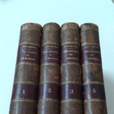 Libros antiguos: EL INGENIOSO HIDALGO DON QUIJOTE DE LA MANCHA CERVANTES IMPRENTA REAL 1819 ILUSTRADO. Lote 181892348