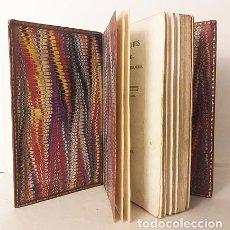 Libros antiguos: LES BUCOLIQUES DE VIRGILE. (BUCÓLICAS DE VIRGILIO. P., 1831 BILINGÜE PLENA PIEL. Lote 182088043