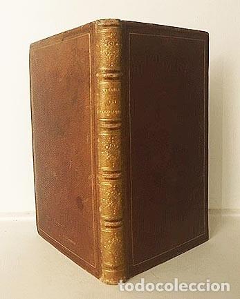 Libros antiguos: Les Bucoliques de Virgile. (Bucólicas de Virgilio. P., 1831 Bilingüe Plena piel - Foto 4 - 182088043