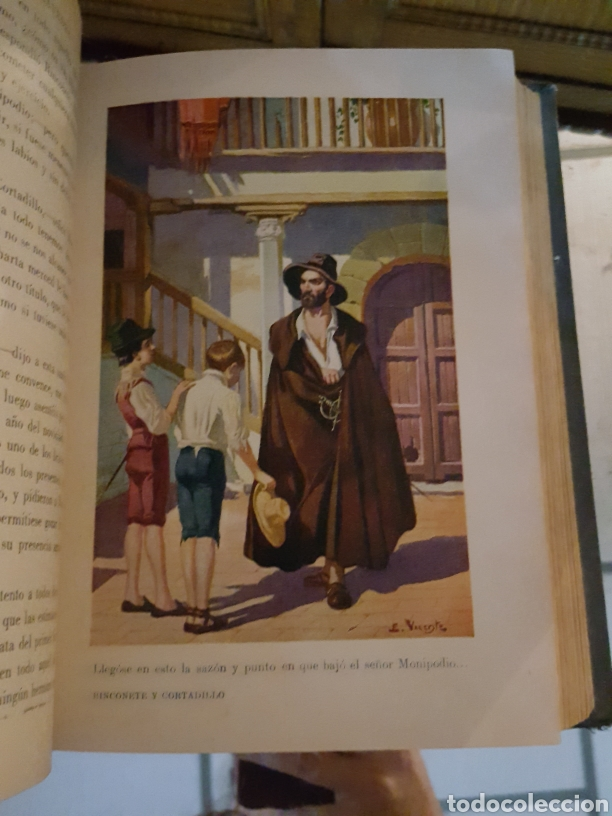 Libros antiguos: NOVELAS EJEMPLARES. MIGUEL DE CERVANTES - Foto 4 - 182306278