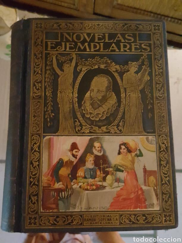 NOVELAS EJEMPLARES. MIGUEL DE CERVANTES (Libros antiguos (hasta 1936), raros y curiosos - Literatura - Narrativa - Clásicos)