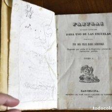 Libros antiguos: 1846 FABULAS EN VERSO CASTELLANO FELIX MARIA SAMANIEGO 2 TOMOS EN 1 VOLUMEN. Lote 182411618