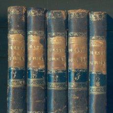 Libros antiguos: NUMULITE L1089 QUINTIN DURWARD EL ESCOCÉS SIR WALTER SCOTT 5 TOMOS BARCELONA 1834. Lote 182501530