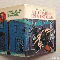 Libros antiguos: EL HOMBRE INVISIBLE (H. G. WELLS) - MINI LIBRO - JOYAS DE LA LITERATURA UNIVERSAL. Lote 182823676