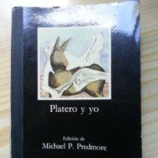 Libros antiguos: PLATERO Y YO.. Lote 182852503