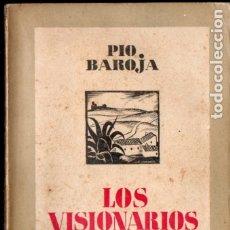 Libros antiguos: PÍO BAROJA : LOS VISIONARIOS (ESPASA CALPE, 1937). Lote 183261353