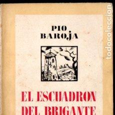 Libros antiguos: PÍO BAROJA : EL ESCUADRÓN DEL BRIGANTE (ESPASA CALPE, 1937). Lote 183264675