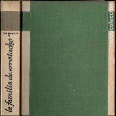 Libros antiguos: PIO BAROJA : LA FAMILIA DE ERROTACHO (ESPASA CALPE, 1932). Lote 183267947