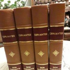 Libros antiguos: CERVANTES, PONCHON - L'INGÉNIEUX HIDALGO DON QUICHOTTE DE LA MANCHE - 1935. Lote 183329121