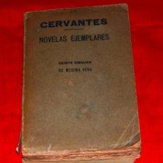 Libros antiguos: CERVANTES NOVELAS EJEMPLARES VEINTE DIBUJOS DE MEDINA VERA ED. LUIS TASSO BARCELONA 1899?. Lote 183498332