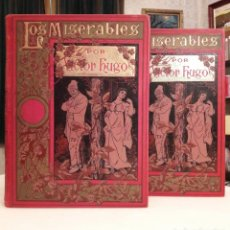 Libros antiguos: VÍCTOR HUGO - LOS MISERABLES. Lote 183951795