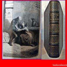 Libros antiguos: AÑO 1862: ELEGANTE LIBRO ILUSTRADO DEL SIGLO XIX. 2 TOMOS EN 1 VOLUMEN.. Lote 183953608