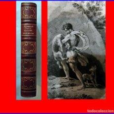 Libros antiguos: AÑO 1829: LA GALATEA, DE CERVANTES. VERSIÓN DE FLORIÁN. EN ELEGANTE LIBRO ILUSTRADO DEL SIGLO XIX.. Lote 184033810